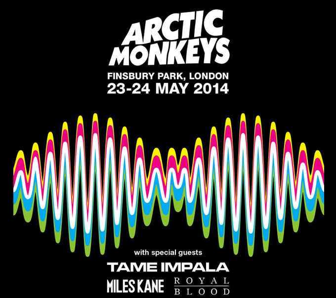 Arctic Monkeys gigs May 2014