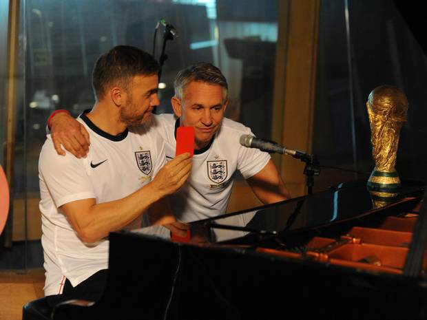 world cup song gary lineker