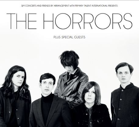 The Horrors tour
