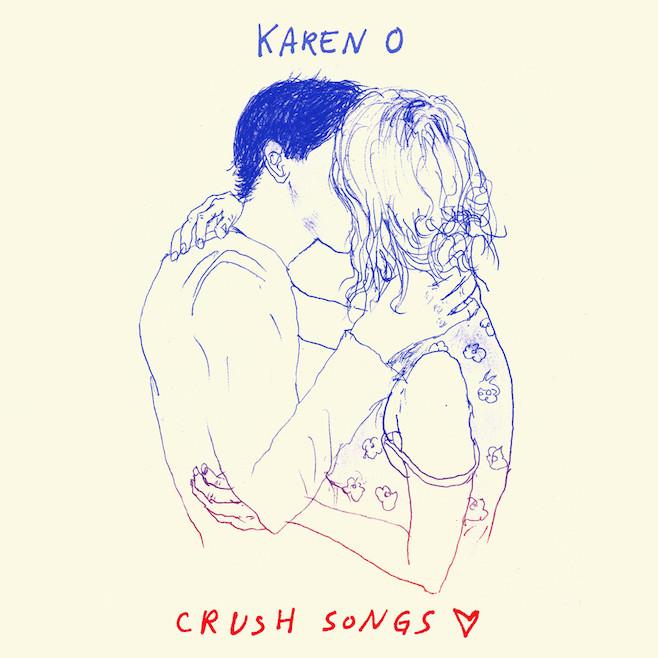 Karen O Crush Songs cover