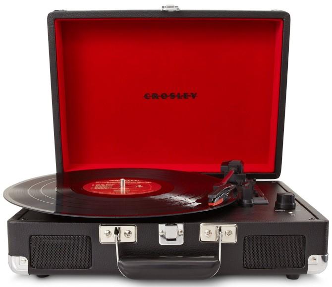 Crosley vinyl turntable