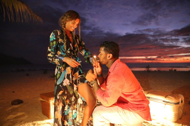Ciara & Russell Wilson Engagement: NFL Star Proposes With Huge Diamond Ring