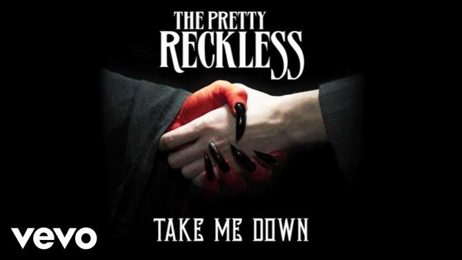 the pretty reckless take me down