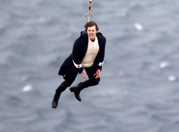 harry styles sign of times filming music video