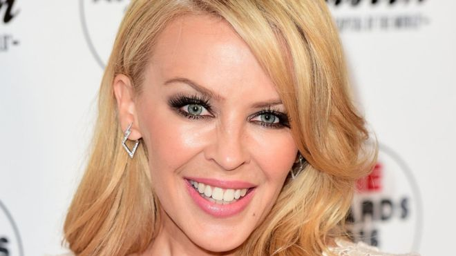 Kylie Minogue dances with death in Dancing music video