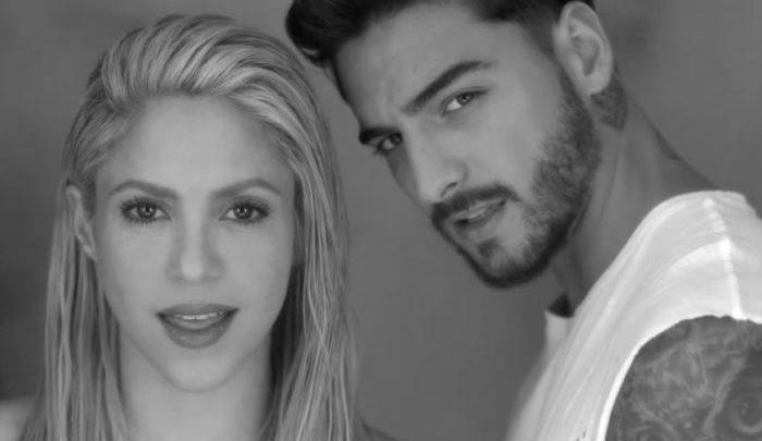 Shakira and Maluma