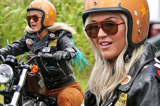 katy perry harley hawaii