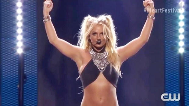 britney spears at iHeartRadio Music Festival