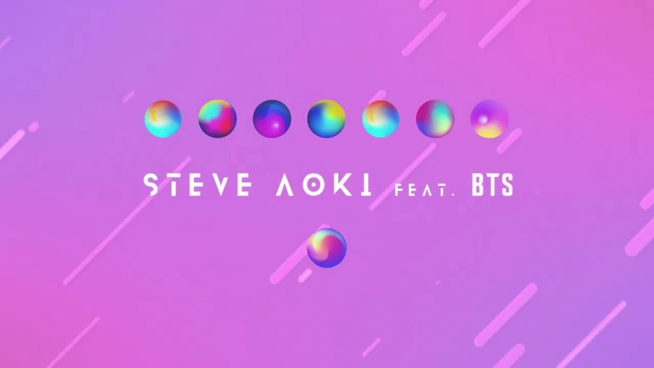 BTS Joins Forces With Steve Aoki To Premiere a New Song